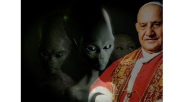 Pope John XXIII and the encounter with the alien.