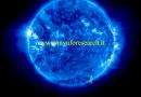 Oggetti volanti nella corona del Sole