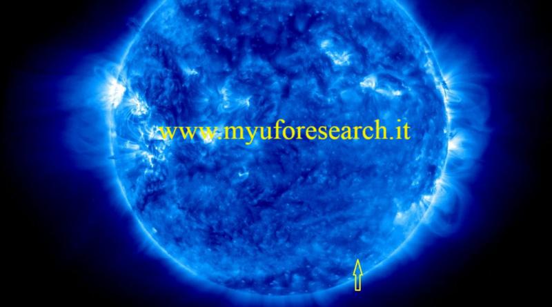 Ufo sul Sole 6 Myuforesearch.it