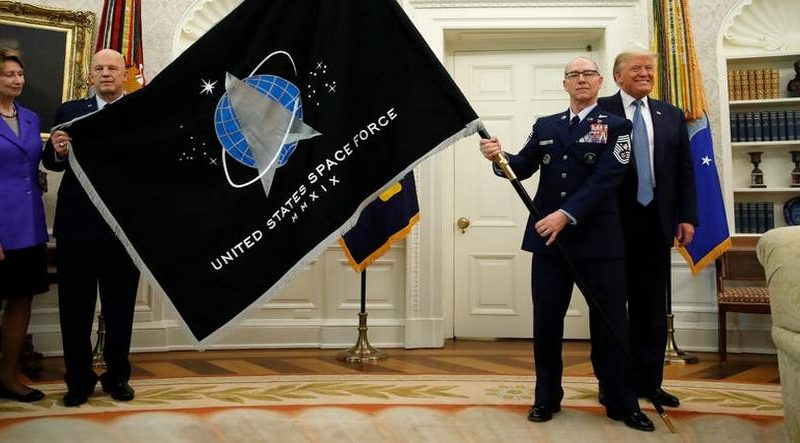 Spaceforce flag