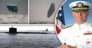 Ufo nel mare artico nel 1971