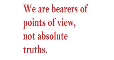 Una breve riflessione: L'intransigenza dei cristiani verso le opinioni diverse.